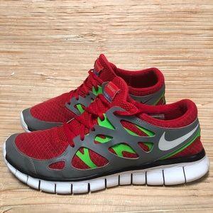 Nike ID Free Run Sneakers Reflective Men 10 Wom 12